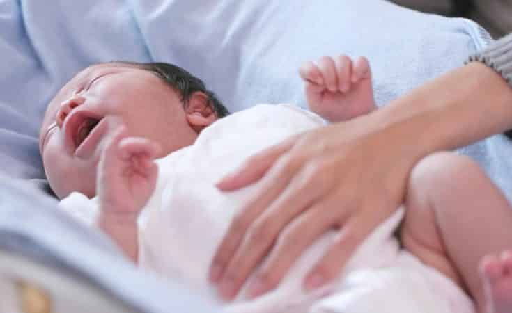 22 wekenprik tegen kinkhoest baby