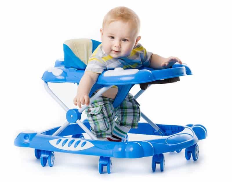 Baby loopstoel slecht voor heupen