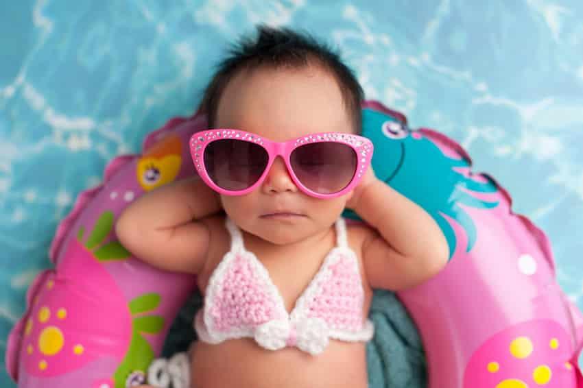 beste baby zonnebril