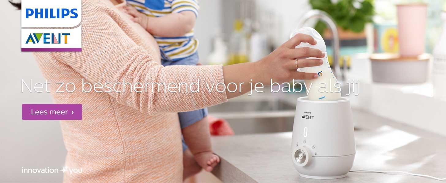 Avent babyflessen en flessenwarmers