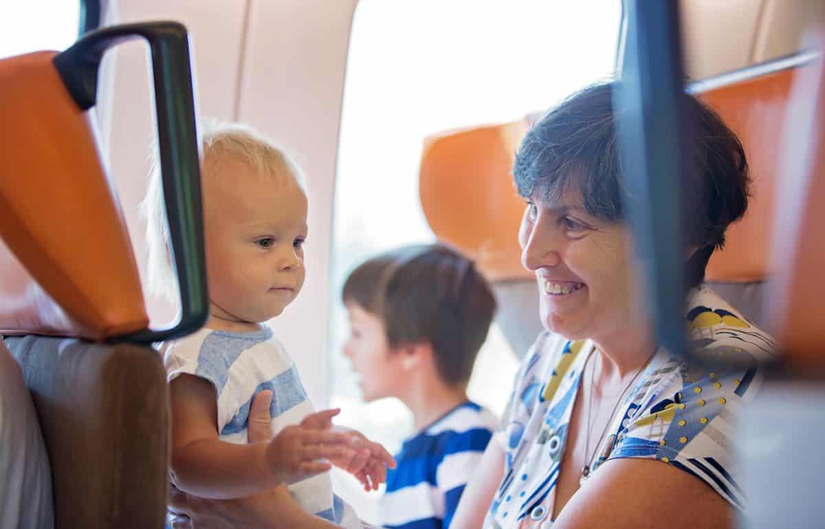 Gratis reizen met baby in openbaar vervoer