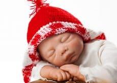 Kerst vieren met een baby
