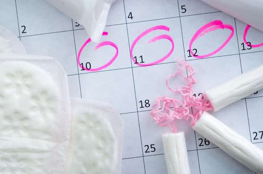Klachten week voor menstruatie