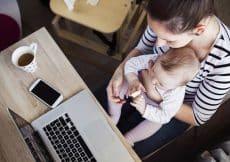 Mag je na zwangerschapsverlof eerder gaan werken