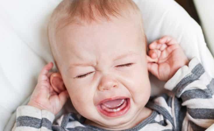 Oorontsteking baby