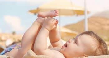 tips om naar het strand te gaan met je baby
