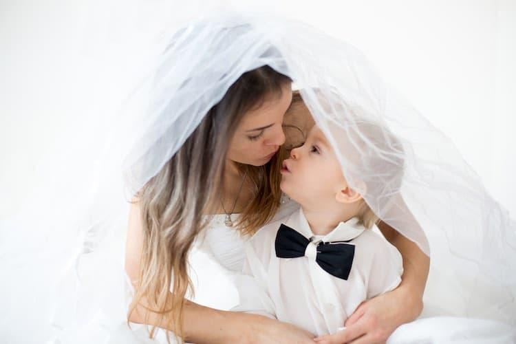 Trouwen met een baby of peuter