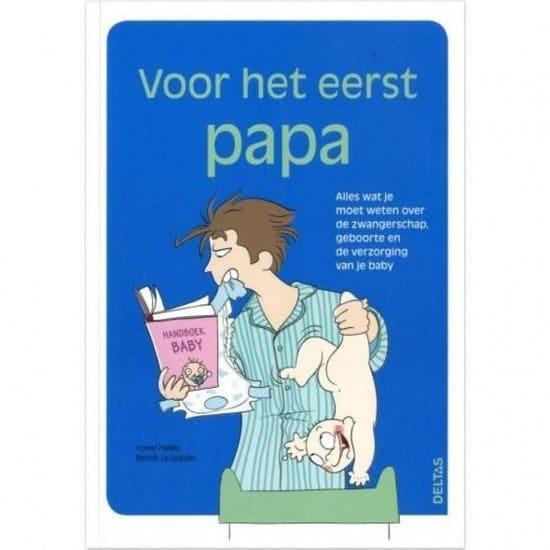 Voor het eerst papa boek