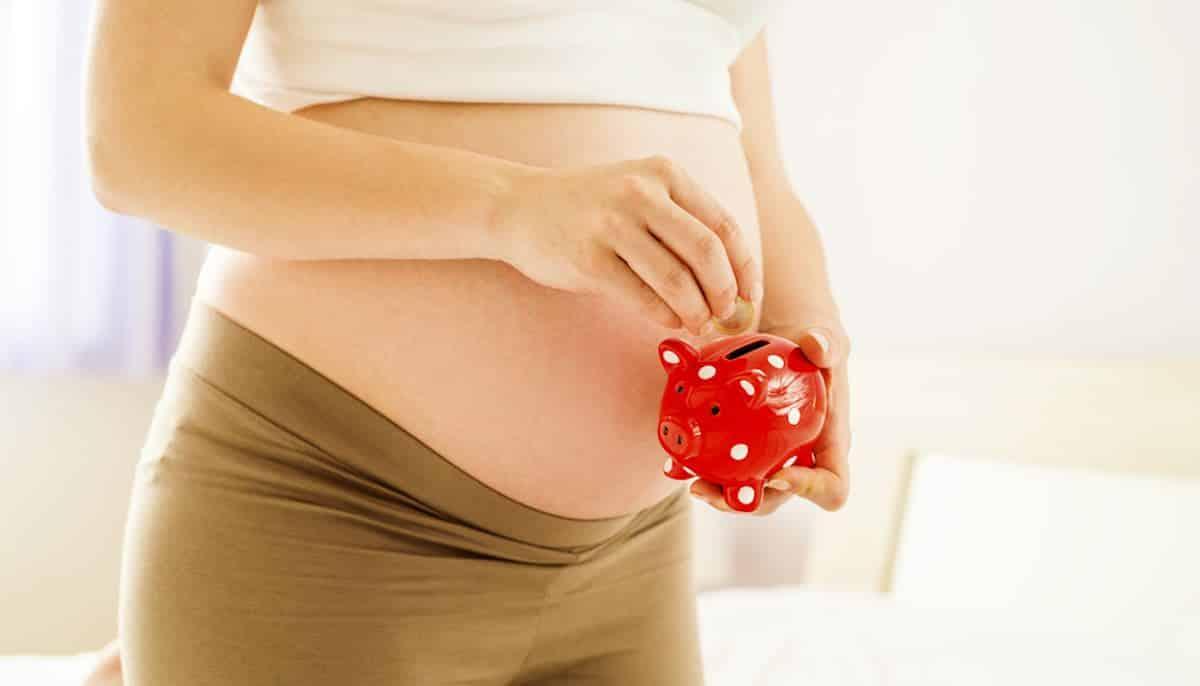 aanschaf van babyspullen financieel niet uitkomt