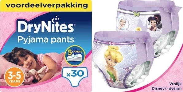 absorberende broekjes kinderen zindelijkheidstraining nacht