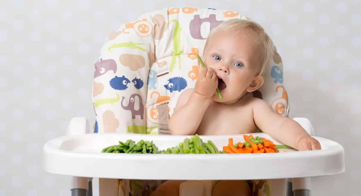 baby 5 maanden eten