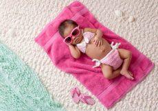 baby afkoelen warm weer