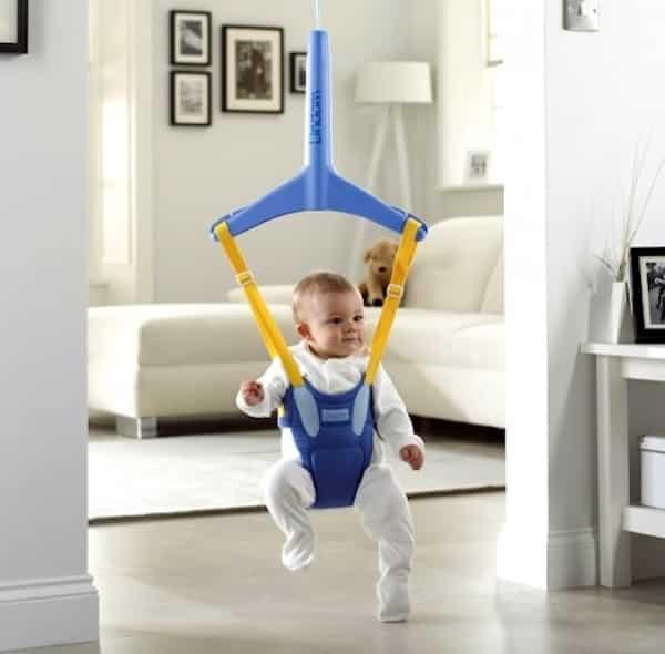 baby bouncer gevaarlijk