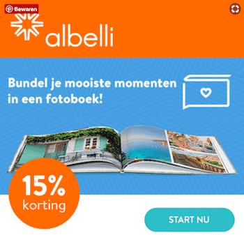 tips baby fotoboek maken eerste jaar albelli