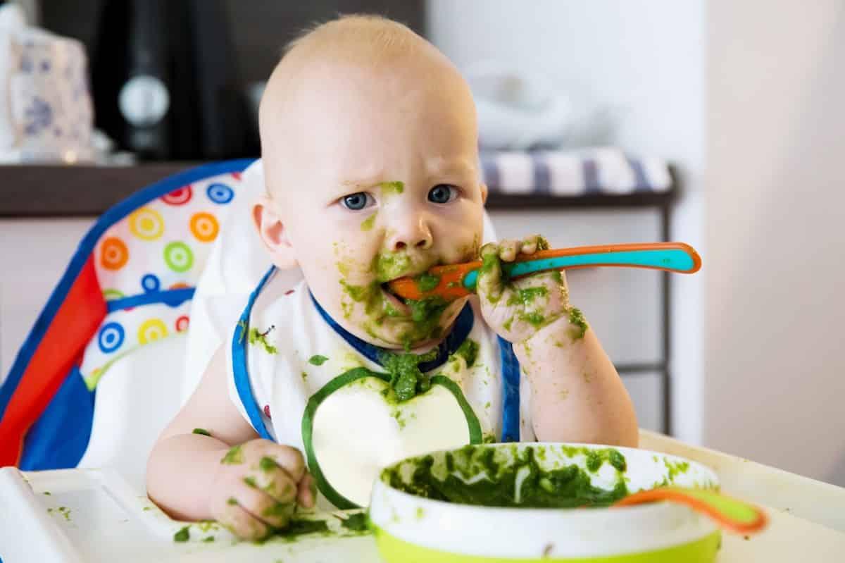 baby groente en fruit leren eten