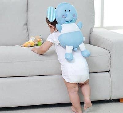 hoofdbeschermer bizarre baby gadget