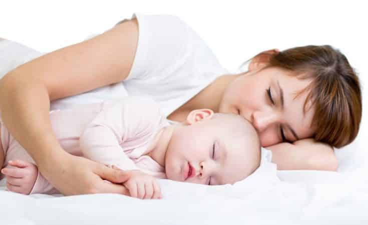 baby in de gaten houden met de Luvion babysense
