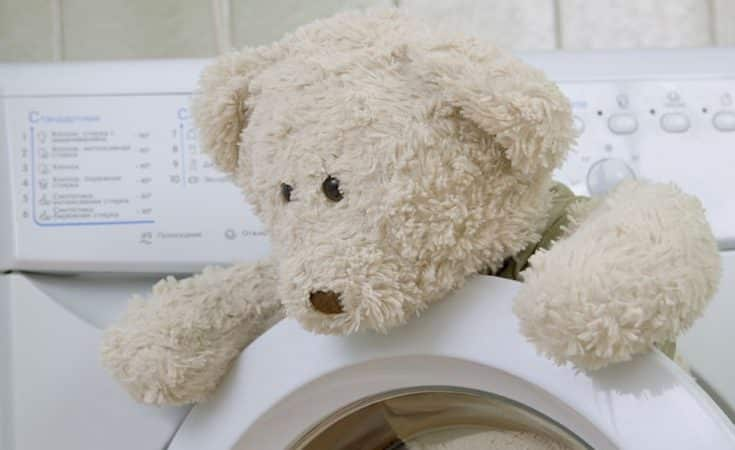 baby knuffel wassen