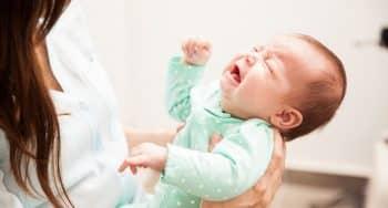 huilende baby stil krijgt filmpje