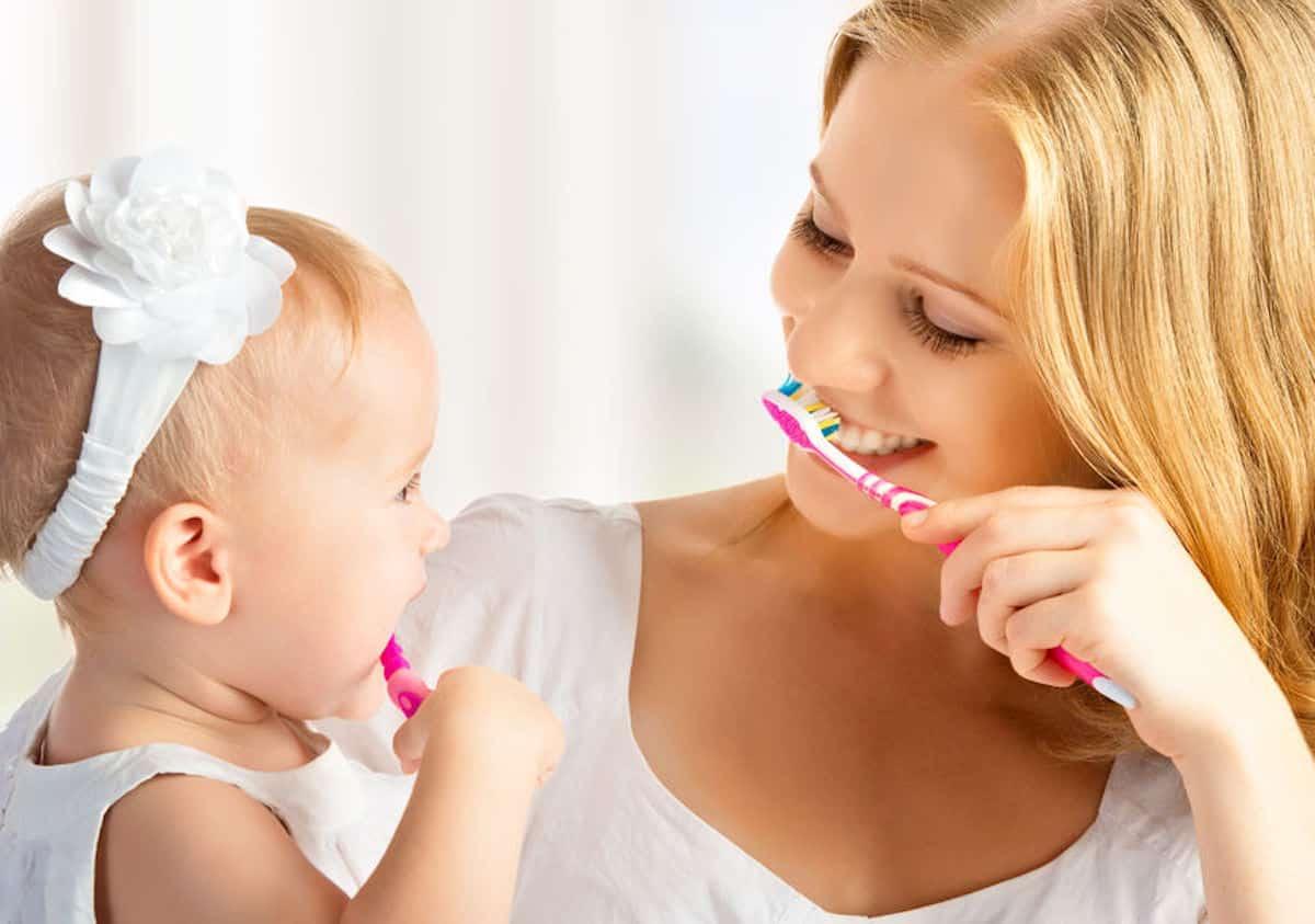 baby tanden poetsen drama