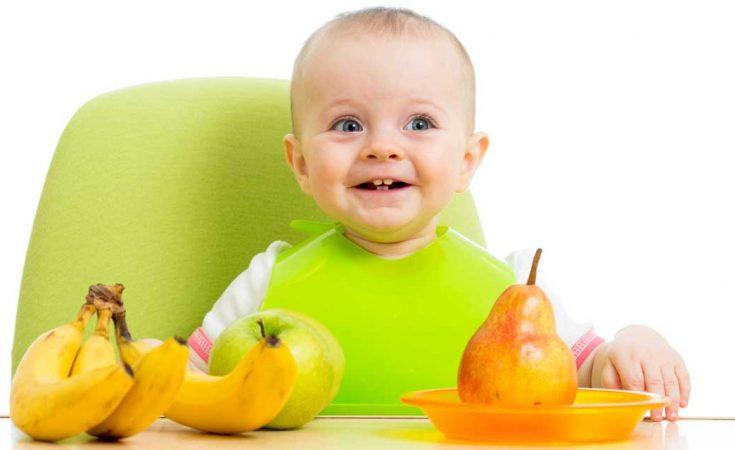 wanneer mag een baby vast voedsel