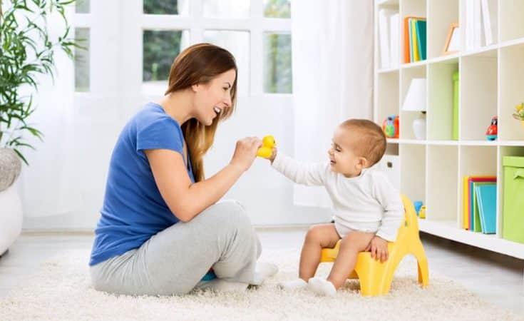 peuter baby zindelijk maken