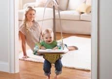 babybouncer deur veilig