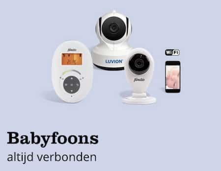 babyfoon draadloos camera