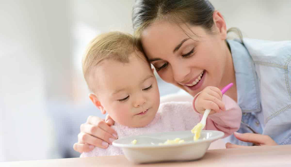 babyvoeding maken met een stomer-blender of babycooker