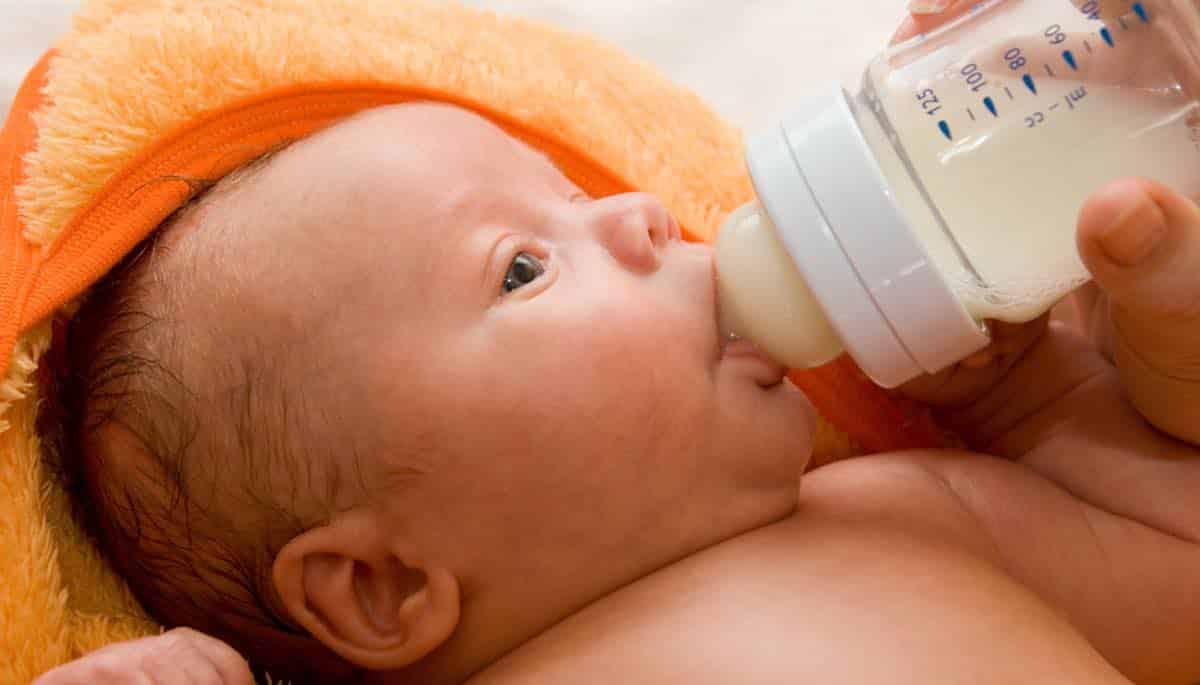 babyvoeding van nutrilon
