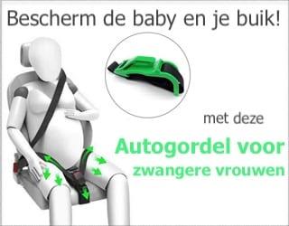 banner autogordel zwangere vrouwen
