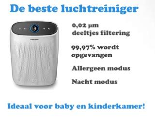 banner beste luchtreiniger babykamer
