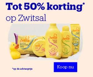 zwitsal 50p korting banner