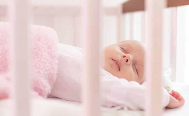 beste slaaphouding van de baby