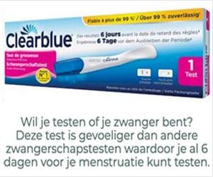 clearblue testen of je zwanger bent banner