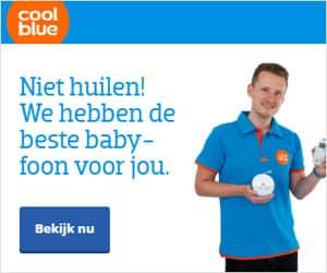 coolblue beste babyfoon banner