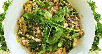 curry met vis en couscous