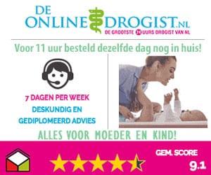 de online drogist alles voor moeder en baby banner