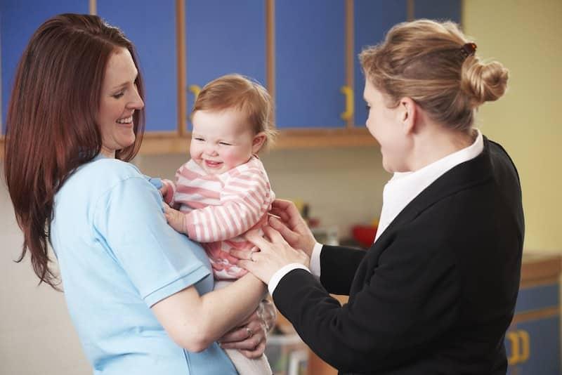 eerder aan het werk gaan na zwangerschapsverlof