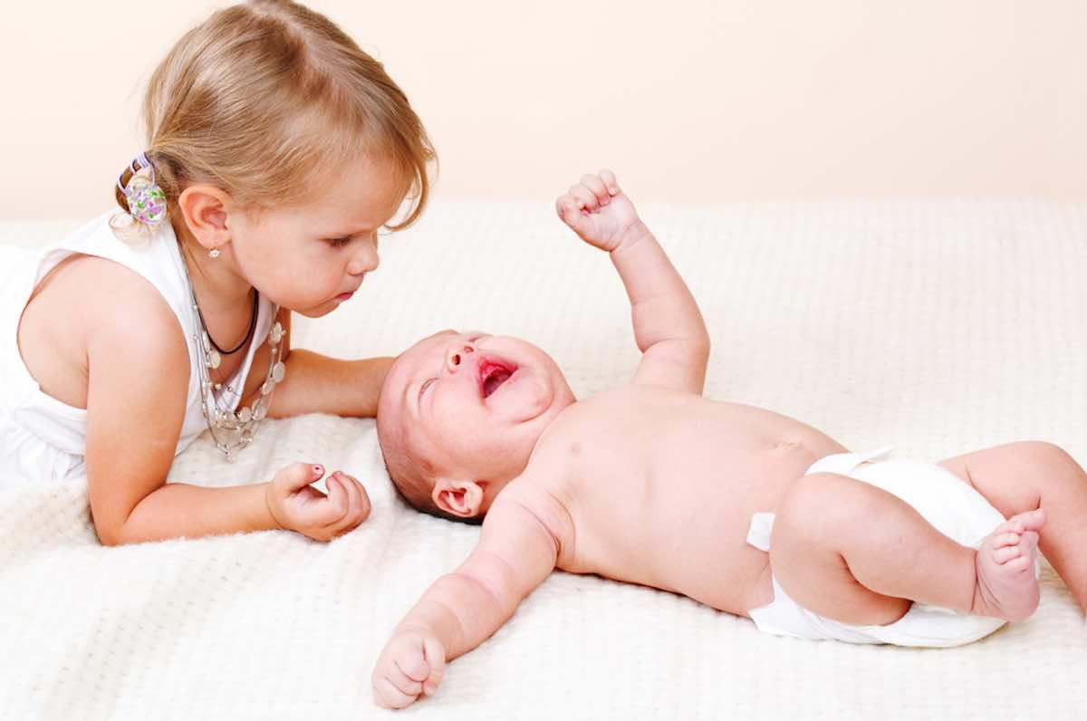 eerste kind jaloers op de tweede