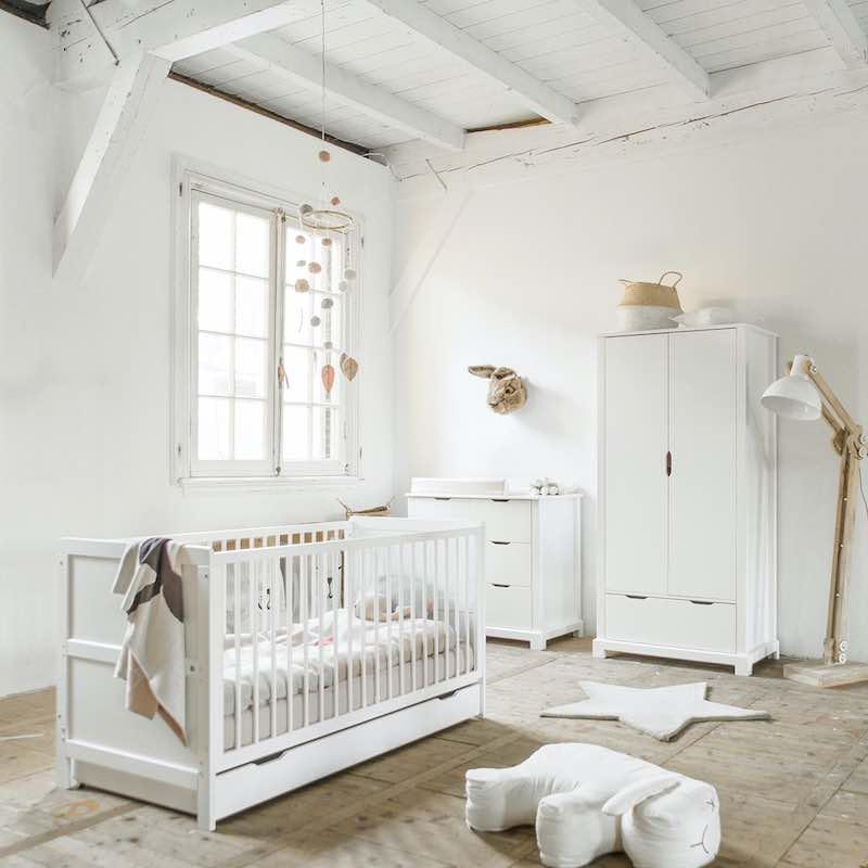 effect van kleur op babykamer
