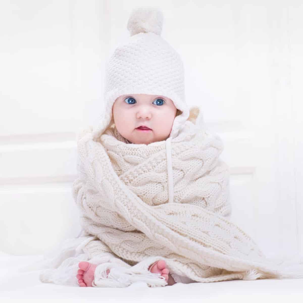 baby aankleden winter