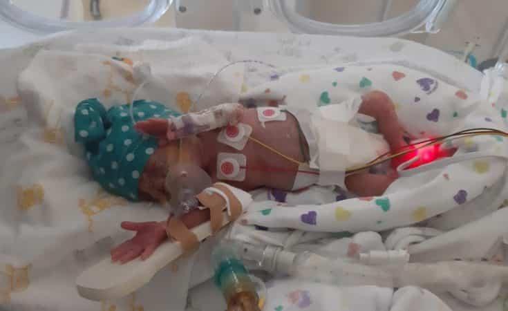 ervaring met baby te vroeg geboren