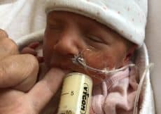 ervaring met borstvoeding geven