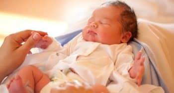 geboorte cadeau met naam voor de baby