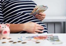geld lenen zwanger