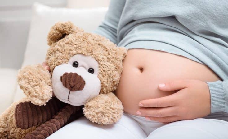 gemiddeld gewicht 38 weken zwanger moeder baby