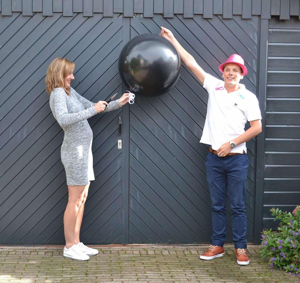 gender reveal nederland party ballon