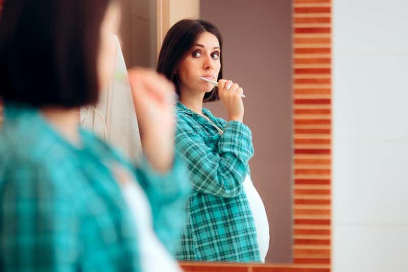 gevaren ontstoken tandvlees zwanger