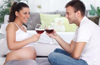 gevaren van alcohol en zwangerschap overdreven